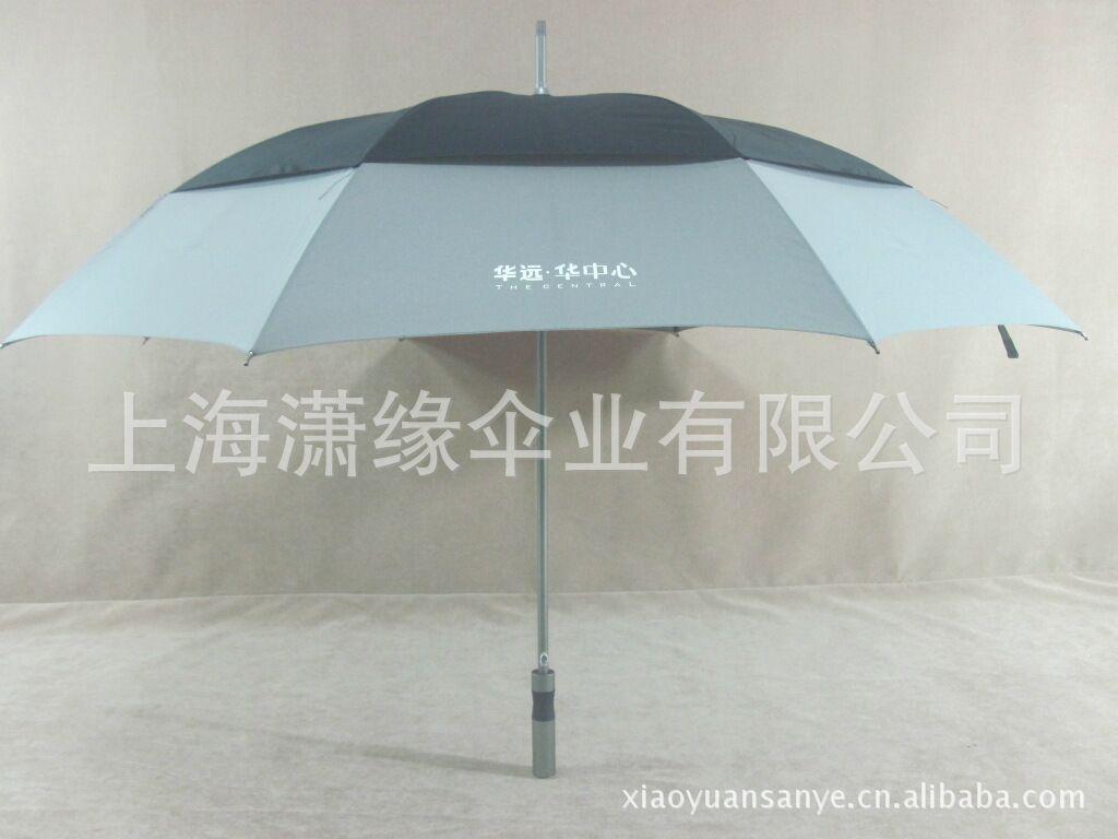 供应长柄高尔夫伞 玻璃纤维伞骨 PG布可印企业LOGO高尔夫伞