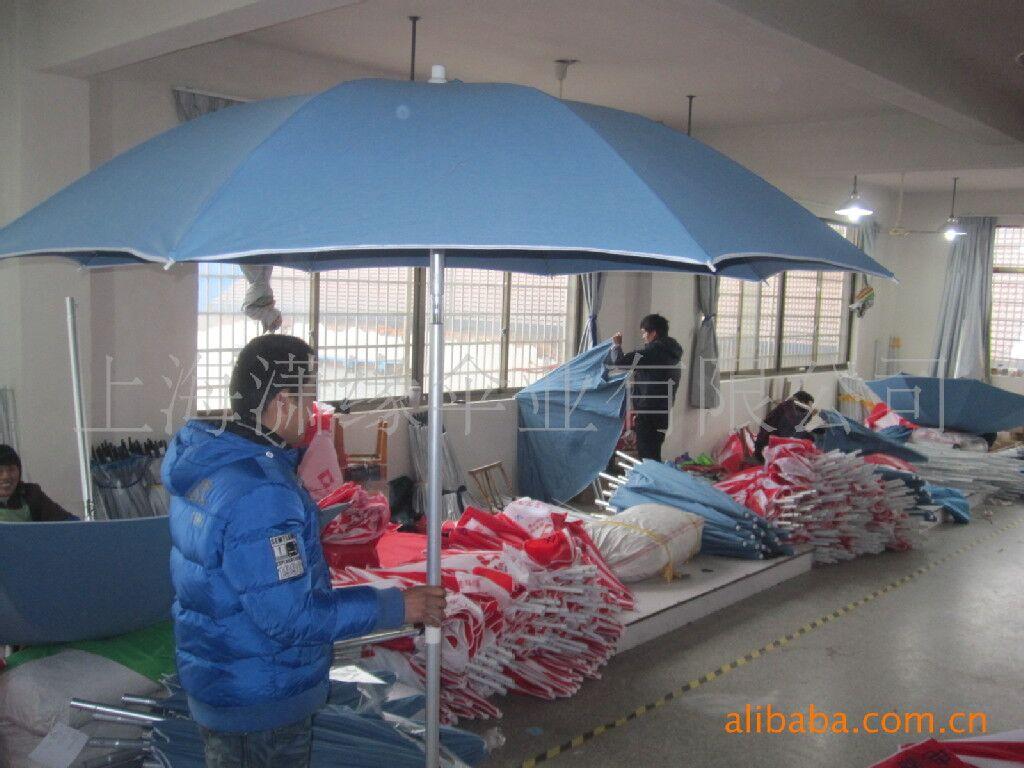 沙滩伞,防水棉帆布/涤纶布伞面铝合金伞柱沙滩伞定做生产